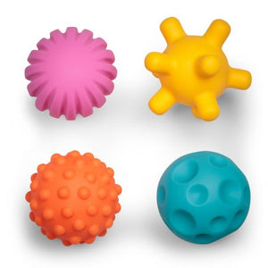 Shape and Sound Sensory Balls - Pack of 4