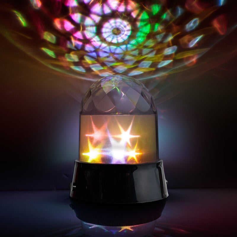 Spinning Star Lamp