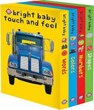 Bright Baby Touch and Feel : Words/Colors/Numbers/Shapes