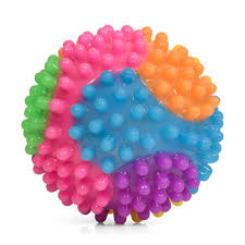 Flashing Sensory Tactile Bobble Ball