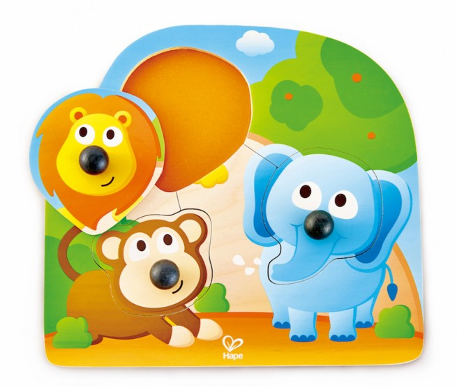 Hape Big Nose Jungle Puzzle
