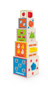 Hape Pyramid Of Play