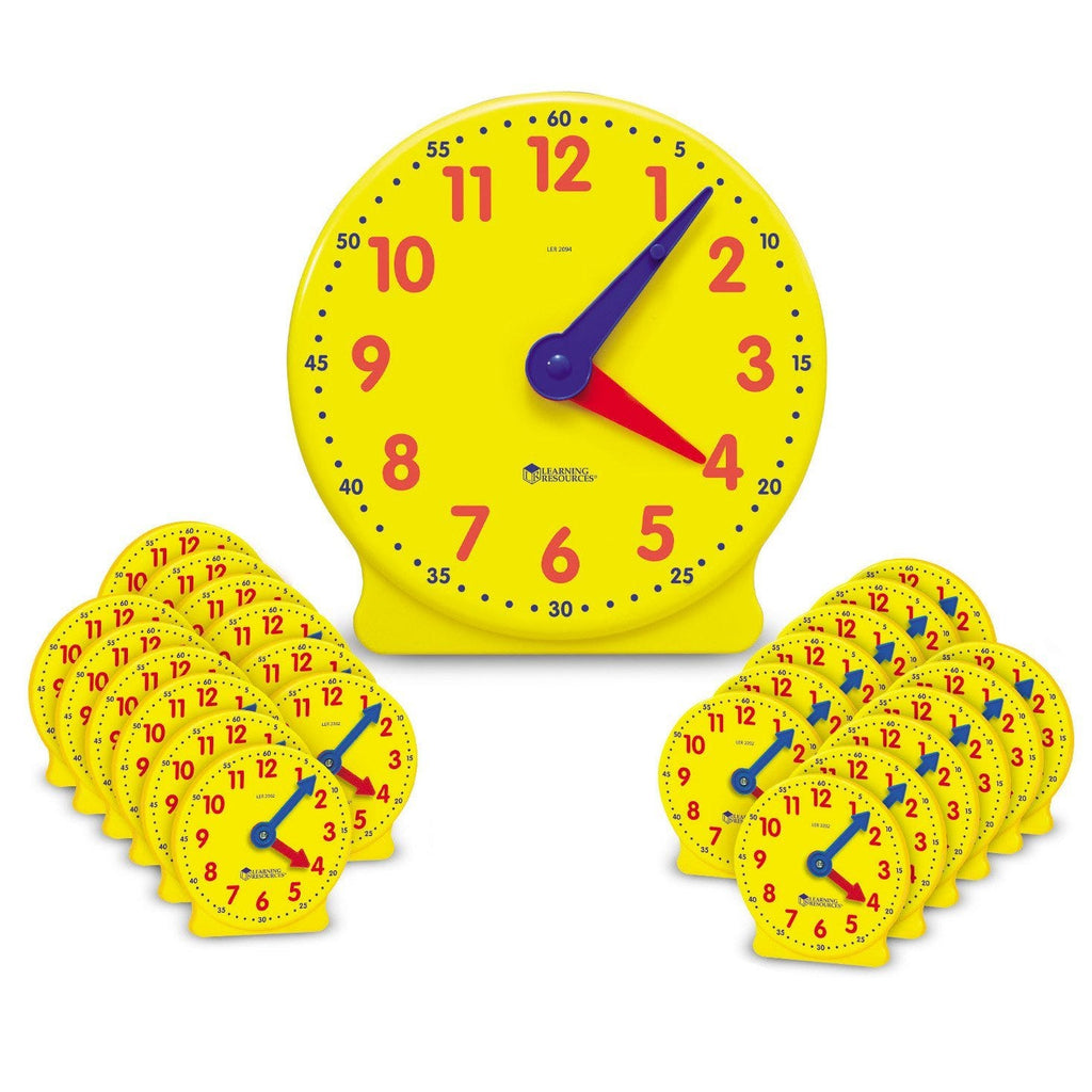 The Original Big Time™ Classroom Clock Kit