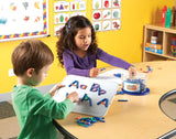 Magnetic Letter and Number Construction Activity Set