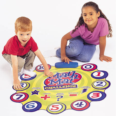 Math Mat Challenge™ Addition & Subtraction Game