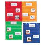 Magnetic Pocket Chart Squares, Set of 4
