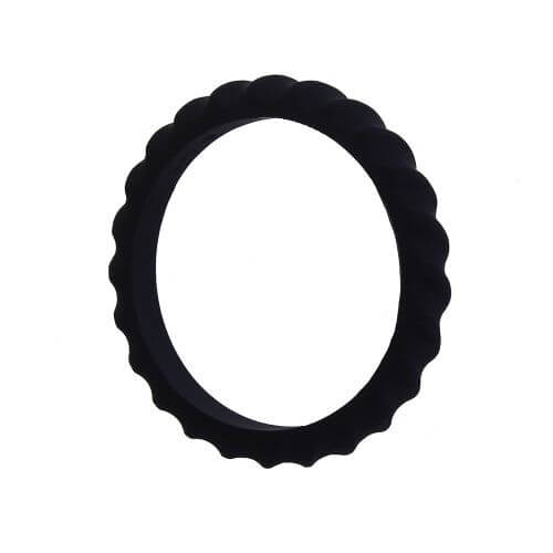 Twister Bangle - Black - Pack of 2