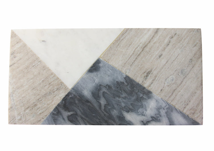 Grey Marble Rectangular Board