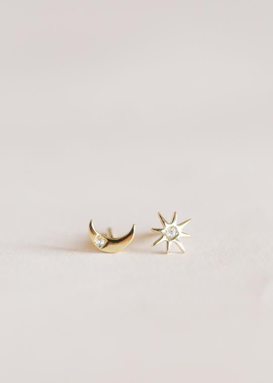 Sun & Moon Earrings