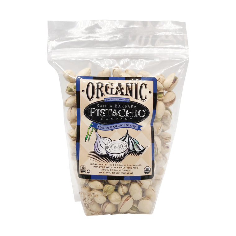 Organic Onion Garlic Roast Pistachios