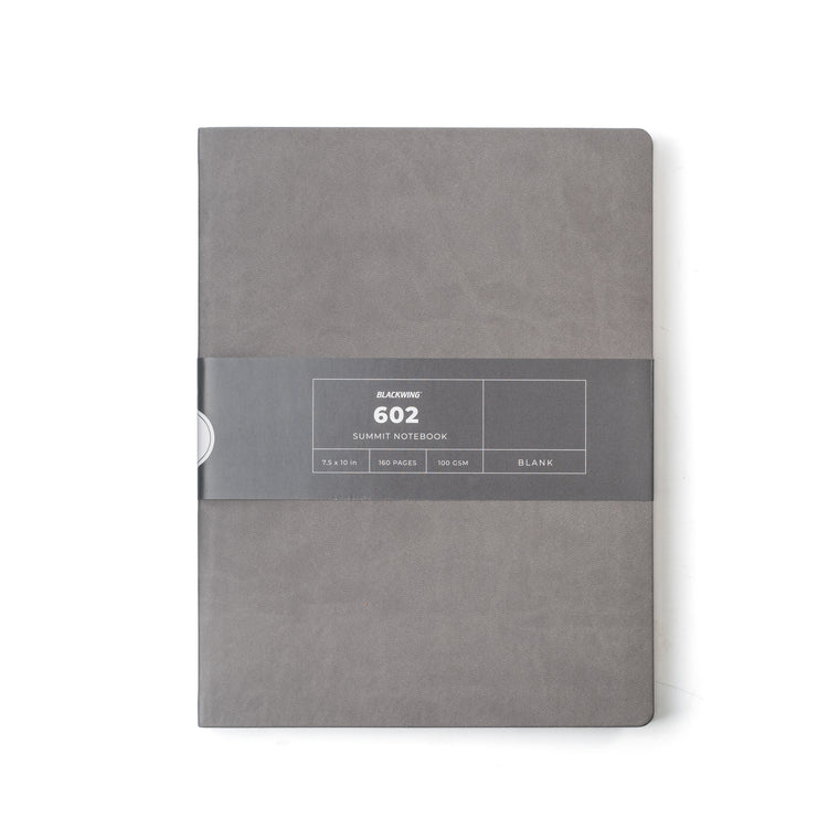 Blackwing Summit Notebook Grey, Blank