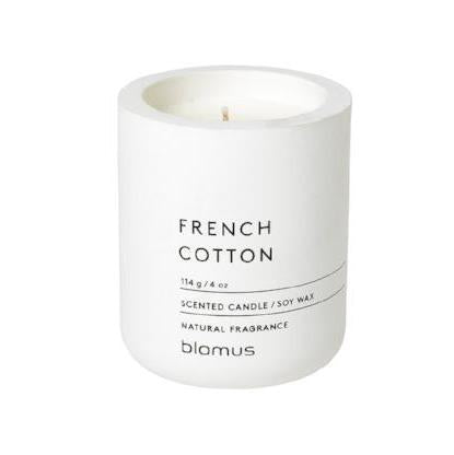 French Cotton Candle, 4 oz