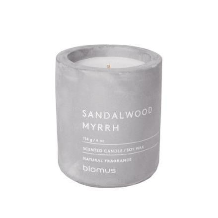 Sandalwood Myrrh Candle