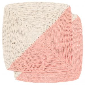 Crochet Dishcloth Pink
