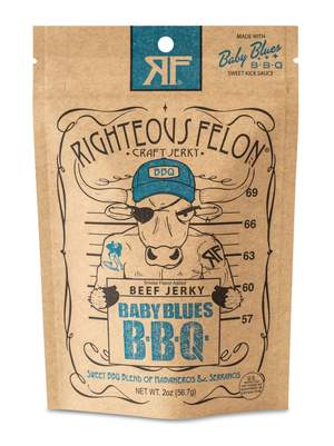 Righteous Felon Baby Blues BBQ Beef Jerky