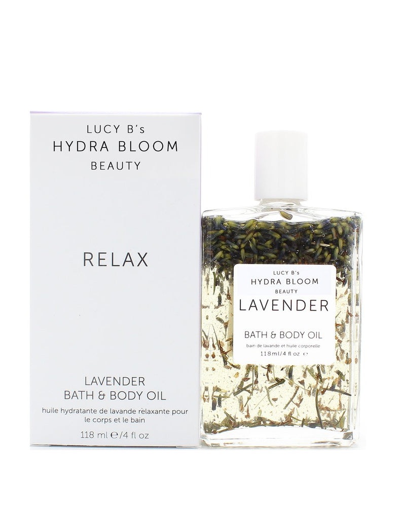 Relax Lavender Bath & Body Oil