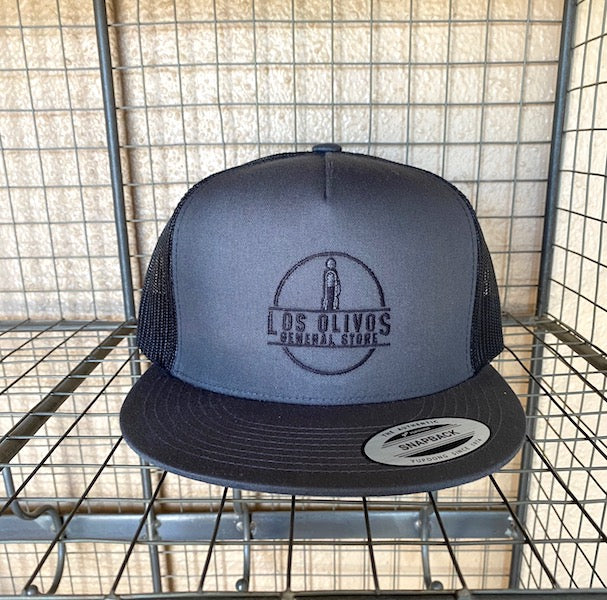 Logo Trucker Hat Grey