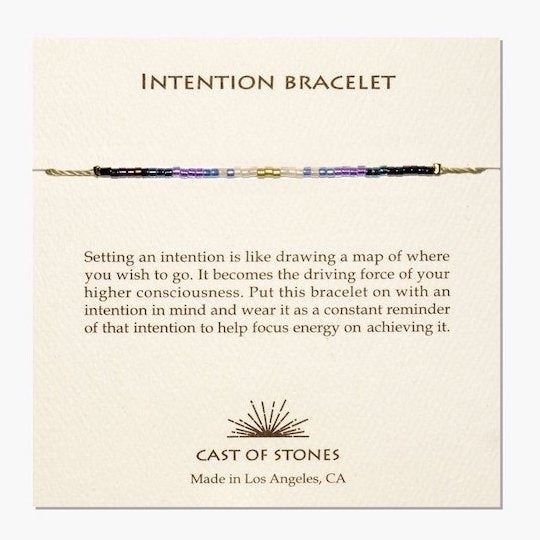 Intention Bracelet, Cool Purple