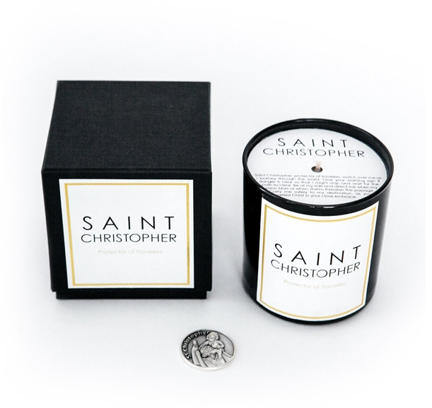 Saint Christopher Candle