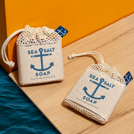 Sea Salt Pocket Size Soap