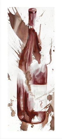 Phantom Wine Bottle Wine Art
