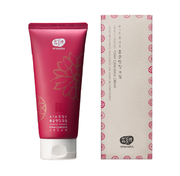 NEW - Whamisa Organic Flowers Foam Cleansing Cream