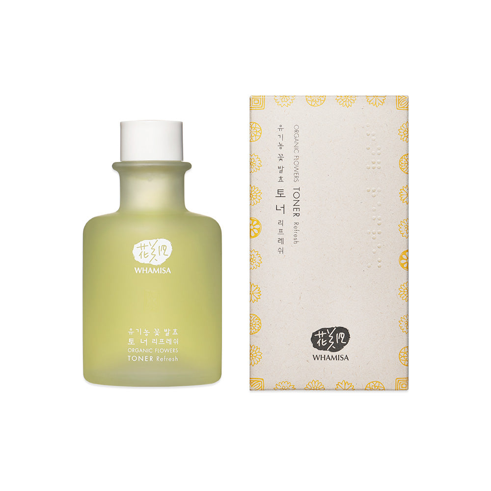 NEW - Whamisa Organic Flowers Toner Refresh