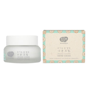 NEW - Whamisa Organic Flowers Water Cream