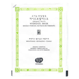 Whamisa Organic Fruits Hydrogel Mask (NEW DESIGN)