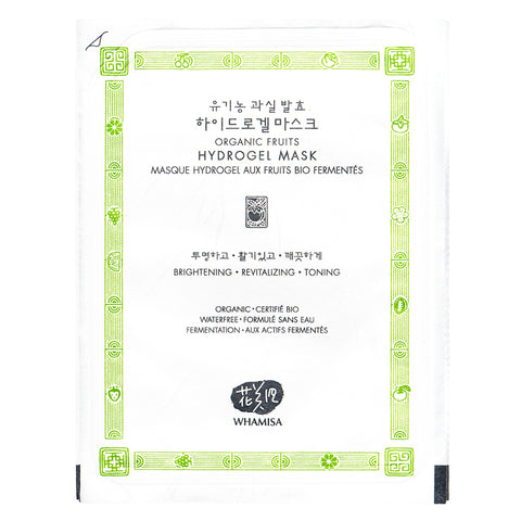 Whamisa Organic Fruits Hydrogel Mask