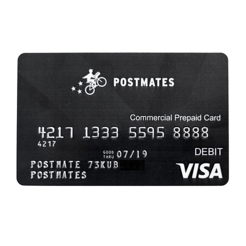 postmates prepaid card - Where Can I Get A Prepaid Card