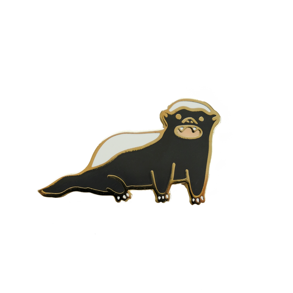 Honey Badger Pin