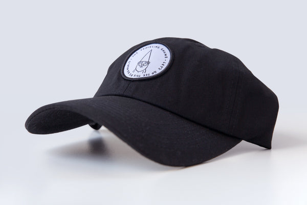 """Traveling Gnome"" Hat - Black"