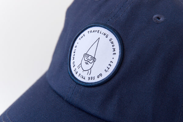 """Traveling Gnome"" Hat - Navy"
