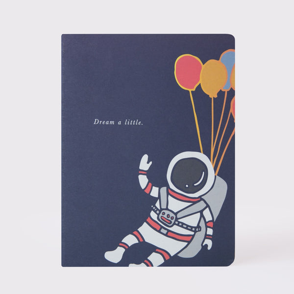 """Astronaut"" Large Notebook"