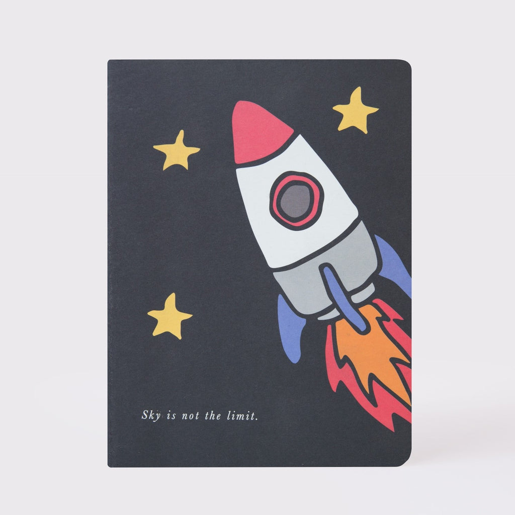 """Rocket"" Large Notebook"