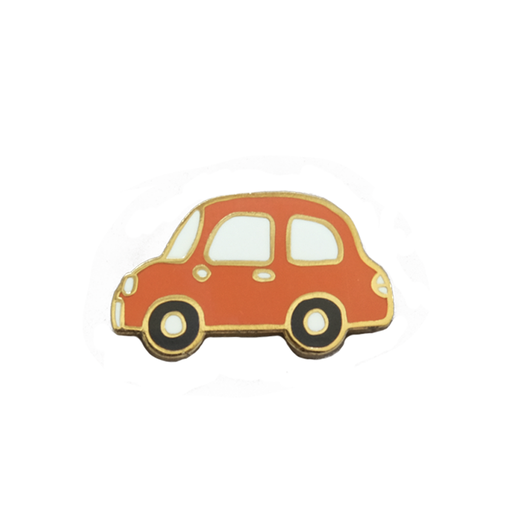 Red Car Pin