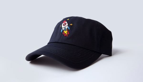 """Rocket"" Hat - Navy"