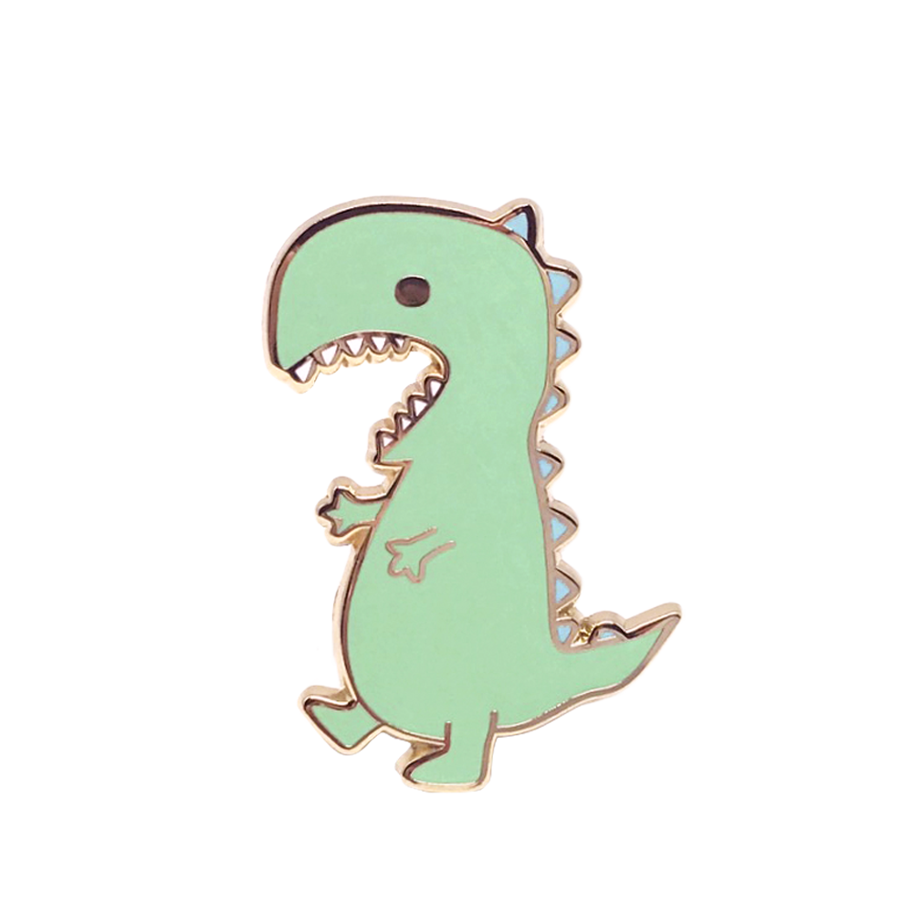 Little Dino Pin – Honey & Brie Design