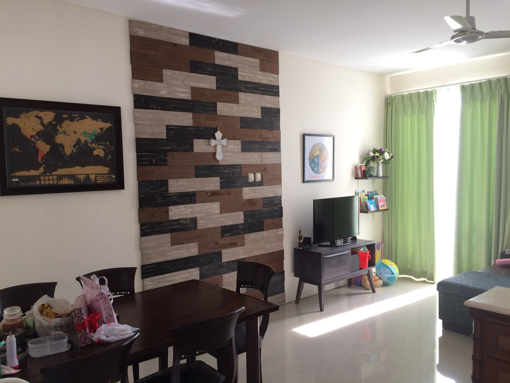 Customer Testimonial: Mosaic Dining Room Feature Wall