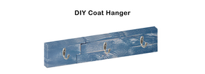 Custom mywoodwall™ DIY Coat Rack