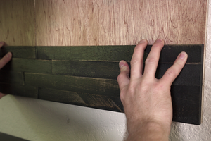 How To: Make a Temporary mywoodwall™ Installation