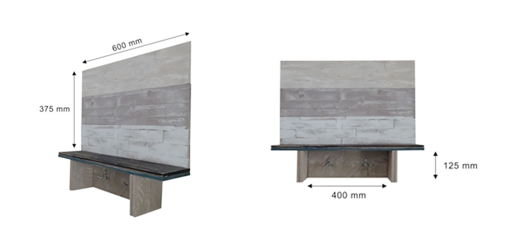 Stay Organized With This Diy Shelf And Coat Hanger Mywoodwall
