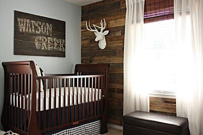 Kids Room Wood Accent Wall