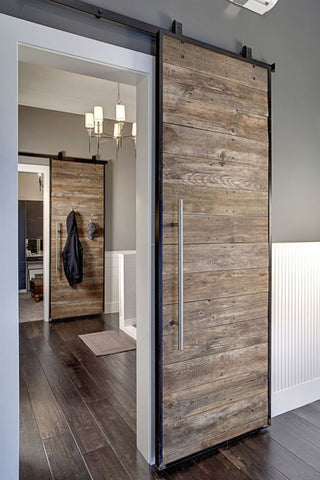Modern Rustic Sliding Door