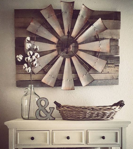 Farmhouse Wood Wall Interior Design