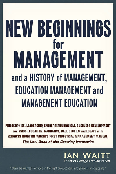 New Beginnings for Management