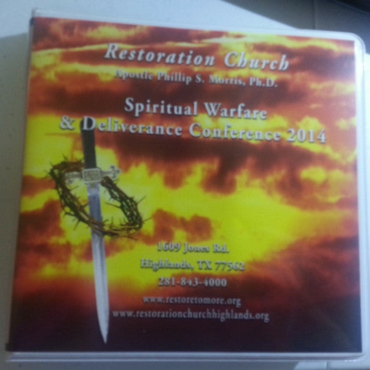 Spiritual Warfare & Deliverance Conference (September 4-6, 2014) - CD Set