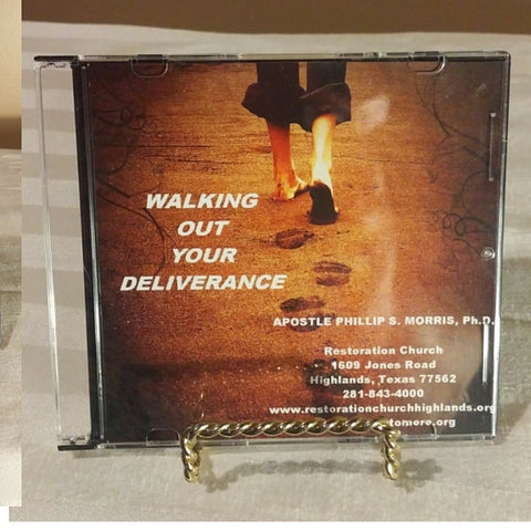 Walking Out Your Deliverance CD
