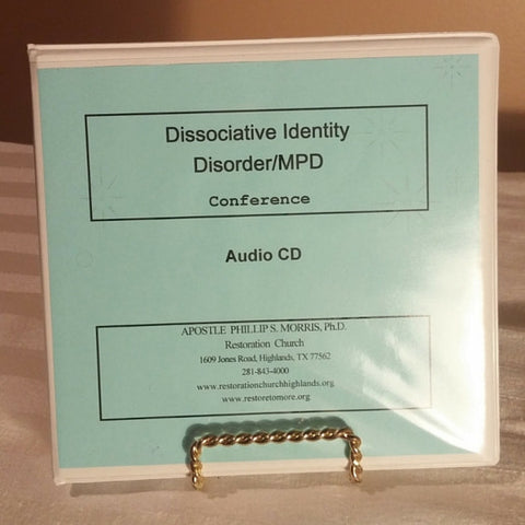 Disassociative Identity Disorder/MPD Conference 8 CD SET